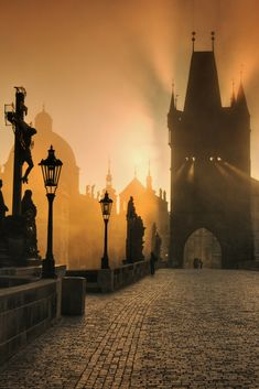 Charles Bridge Prague - The Charles Bridge will never cease to fascinate. Beautiful Places To Travel, Beautiful World, Prague Charles Bridge, Prague Czech Republic, Reisen In Europa, Belle Photo, Travel Photography, Scenery, Places To Visit