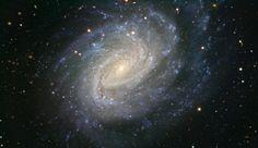 Imagen de la galaxia espiral NGC 1187 obtenida con el VLT