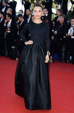 Cannes | Samantha Barks in Christian Dior