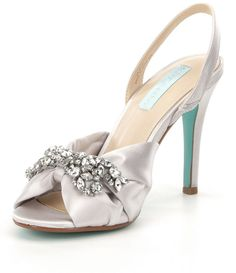 Shop for Blue by Betsey Johnson Briel Jeweled Satin Dress Sandals at Dillards.com. Visit Dillards.com to find clothing, accessories, shoes, cosmetics & more. The Style of Your Life.