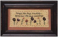 Days Troubles Sampler