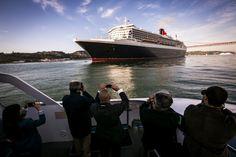 Lisbona festeggia con le tre Queen Cunard - Pazzo per il Mare