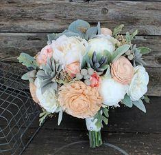Wedding Flowers Bouquet Peonies Dusty Miller Ideas For 2019 Dusty Miller, Sola Flowers, Bridal Flowers, Faux Flowers, White Flowers, Beautiful Flowers, Big Flowers, Wedding Flower Guide, Red Bouquet Wedding