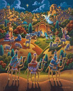 Nativity - 500pc Jigsaw Puzzle by Dowdle