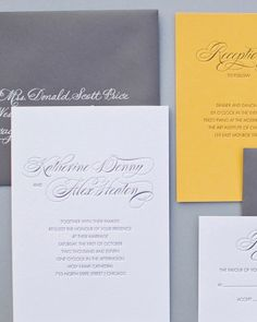 """See the """"Traditional Invitation"""" in our Classic Wedding Invitations gallery"""
