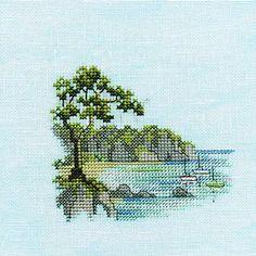 Derwentwater Designs Minuets Cross Stitch Kit - Headland