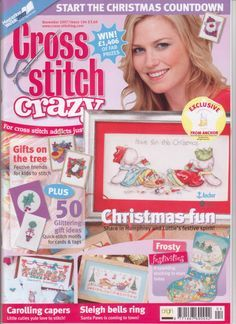 Cross Stitch Crazy Issue 104 November 2007 Saved