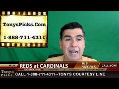 Cincinnati Reds vs. St Louis Cardinals Pick Prediction MLB Baseball Odds...
