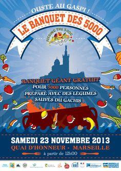 Le Banquet des 5000 - Disco soupe Marseille