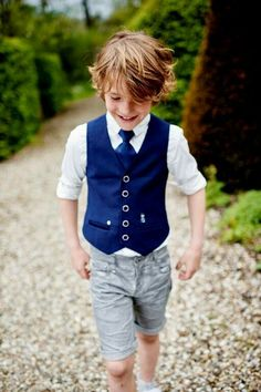 Boys Dressy Outfits, Celebrity Casual Outfits, Kids Outfits, Kids Wedding Suits, Wedding With Kids, Boys Short Suit, Boys Suits, Tween Boy Fashion, Fashion Kids