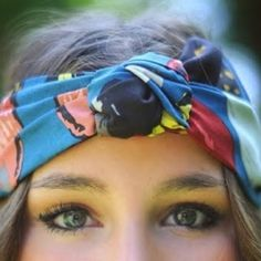 10 different ways to tie a Headscarf!