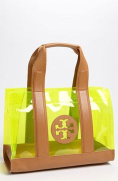 Tory Burch 'Jesse Tory' Tote... perfect for the beach!!