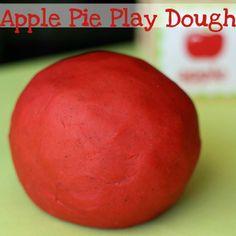 Apple Pie Scented Play Dough - It's Gravy, Baby!