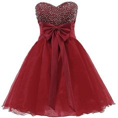 wine red short prom dress, #homecoming dress