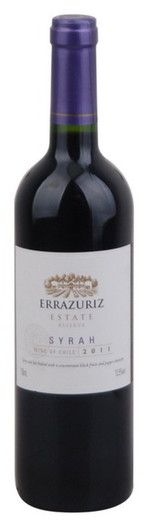 In stock - 7,32 € 2011 Errazuriz Shiraz Reserva, red dry , Chile - 88pt Wine of opaque ink colour with ruby rim. Its aroma is intense, rich and fruity almost marmelade-sour cherry, earthy and in the background also a little bit animal with tones of skin. In taste are dominant tones of dewberries and redberries, full body and rich tannic end predestinate this elegant wine for next maturing.