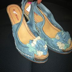 Sexy Miss Sexy Wedges💗💗Sz8 Perfect for Summer/Spring!!!!  Paid $74.. You can steal them from me today!  Brand  New.. I want a New Louis Vuitton Bag!!! Miss Sixty Shoes
