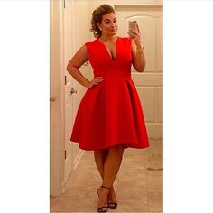 Prom Dresses 2018 dress plus size curvy asos curve red dress red prom dress formal dress formal retro Plus Size Red Dress, Plus Size Formal Dresses, Plus Size Cocktail Dresses, Red Cocktail Dress, Plus Size Outfits, Dress Formal, Formal Prom, Sexy Party Dress, Sexy Dresses