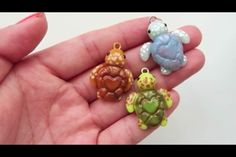 Heart Sea Turtle Polymer Clay Charms | Crafty Amino                                                                                                                                                                                 More