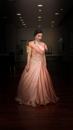 """Photo from album """"Wedding Stills"""" posted by photographer FestiveDiaries Bridal Lehenga, Saree Wedding, Wedding Stills, Saree Gown, Wedding Preparation, Her Style, Cocktail, Beige, Gowns"""