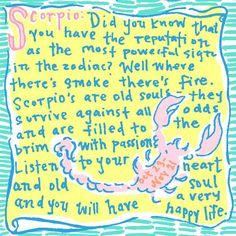 Scorpio Lilly Horoscope
