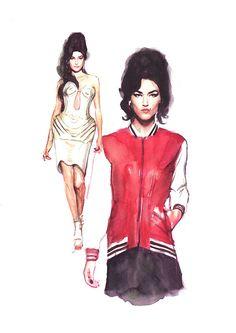 Fashion Illustration 2013 by Berto Martinez