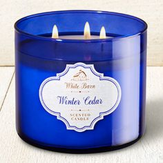Winter Cedar 3-Wick Candle - Home Fragrance 1037181 - Bath & Body Works