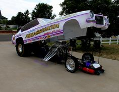 Mike Harvery's re-creation of Roger Guzman's Assassination Funny Car