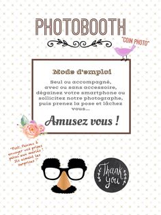 mode d 39 emploi photobooth t l charger recherche google photo booth photo ideas pinterest. Black Bedroom Furniture Sets. Home Design Ideas