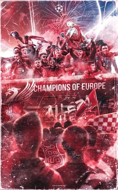 10 Liverpool Fc Champions Of Europe Ideas Liverpool Stadium, Camisa Liverpool, Liverpool Anfield, Liverpool Champions League, Salah Liverpool, Gerrard Liverpool, Liverpool Players, Liverpool Fans, Comic Art