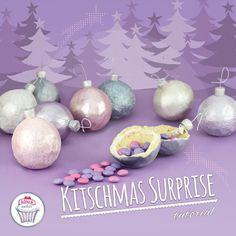 SOOO excited to share our latest Tutorial: 3D Cookie Christmas Tree Ornaments...with a SURPRISE inside!!!! Hope you love this idea as much as we do. Please do share with us if you try this out at home  Notre tout dernier Tutoriel: Une idée (la nôtre que nous trouvons juste SUBLIME!! Des Boules Cookies 3D à suspendre sur le sapin avec une SUPRISE à l'intérieur! Trop cool, ça!! Nous espérons que vous allez adorer l'idée autant que nous...