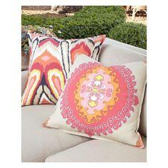 Trina Turk Zebra Bamboo Pillow