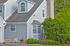 Front Elevation With Hardie Board Shake Siding Ranches