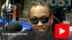 Video: Ty Dolla $ign Interview at Power 105.1's The Breakfast Club #Getmybuzzup- http://getmybuzzup.com/wp-content/uploads/2014/01/ty-dolla-ign.jpg- http://getmybuzzup.com/video-ty-dolla-ign-interview-power-105-1s-breakfast-club-getmybuzzup/- Ty Dolla $ign Interview at Power 105.1′s The Breakfast Club Watch this exclusive interview of rapper Ty Dolla $ign who stops by Power 105.1′s The Breakfast Club. Enjoy! Follow me: Getmybuzzup on Twitter | Getmybuzzup on Fa