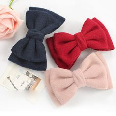 2350 bow hairpin hair accessories