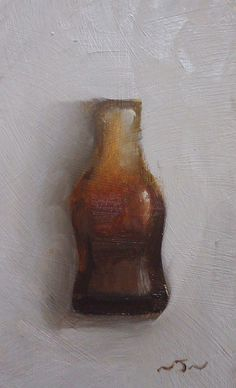 Retro Cola Bottle, sweet painting,  Neil Nelson