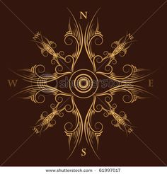 gorgeous compass rose
