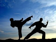 Tai Chi/ Kung Fu in Scotland; Shadow images