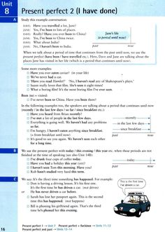 Present perfect 2 (I have done)