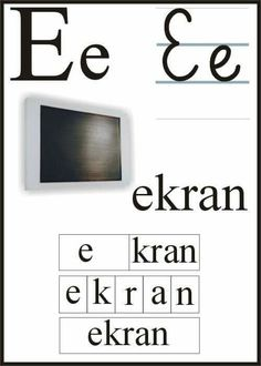 Polish Alphabet, Montessori, Education, Puzzle, Speech Language Therapy, Program Management, Paper, Cuba, Projects