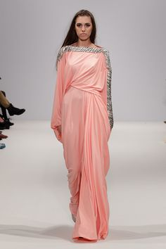 f154436497e46 DAS Amber Le Bon LFW Islamic Fashion
