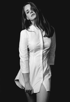 Lana Del Rey photographed by Audoin Desforges for Les InRocks Magazine, 2014.