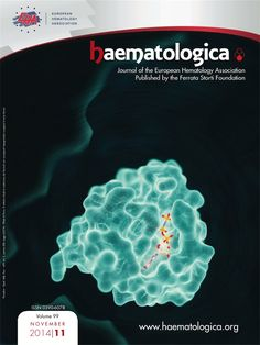Structure of RAS-GTP Cover of Haematologica, a peer-reviewed journal.  Illustration by Somersault 18:24