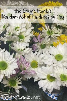 Our family has completed May's Random Acts of Kindness! What can you do for someone this month?