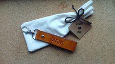 Custom Keychains for Ami by VantlerLeather on Etsy