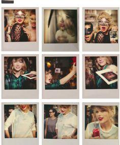 took a Polaroid of us