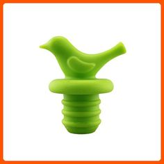 Little Bird Wine Bottle Stopper by LouisChoice (1, Emerald Green) - Kitchen gadgets (*Amazon Partner-Link)