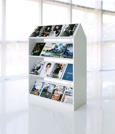 Block storage unit by Horreds   Brochure / Magazine display stands