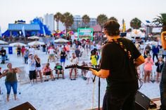 A seventeen-day beach-wide celebration that pays tribute to Tampa Bay's two most valuable assets: our sugar sands and our sunsets! Tampa Bay, Concerts, Seventeen, Times Square, Sugar, Sunset, Beach, Travel, Voyage