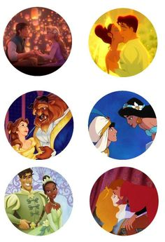 "Disney couples 1"" inch free digital bottle cap images"