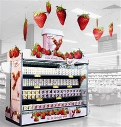 Yoplait point of sale display